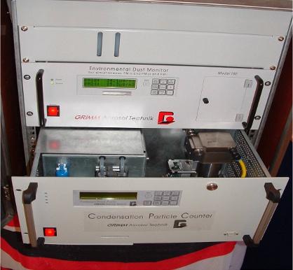 EDM665 WRAS宽粒径气溶胶粒径谱仪内部结构