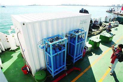 配多种高端仪器设备 国内首艘科研船投入使用