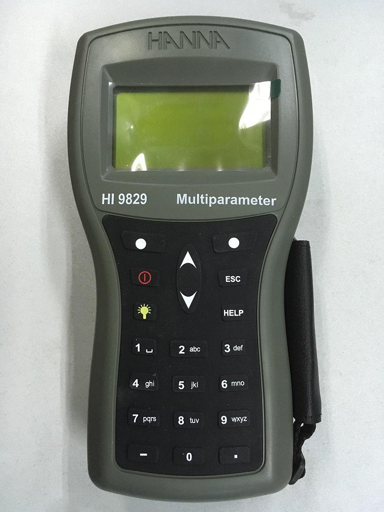 哈纳HI 9829高精度便携式多参数综合水质测定仪使用特性