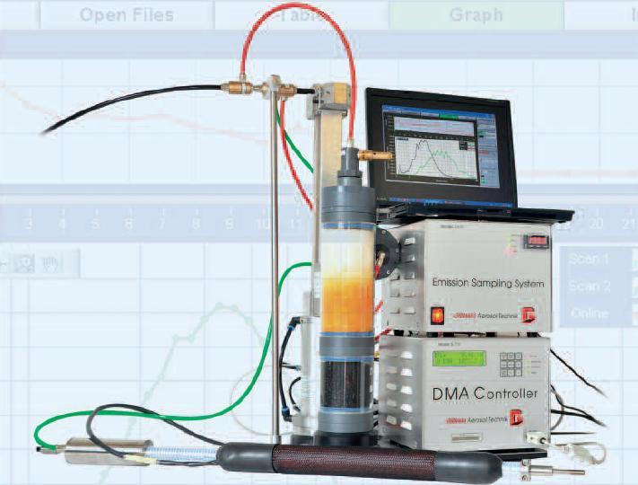 GRIMM ESS颗粒物/尾气排放采样系统产品图