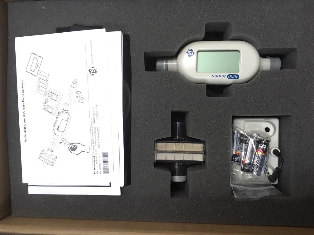 TSI 4046流量校准器使用