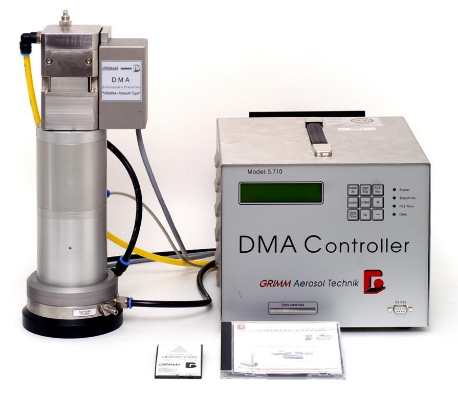 Grimm Mini-WRAS宽范围粒径谱仪与SMPS(CPC+DMA)异同和WRAS的配置