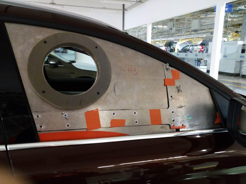 新一代车身漏风量检测仪(BLM-3-R4.2)的工装夹具