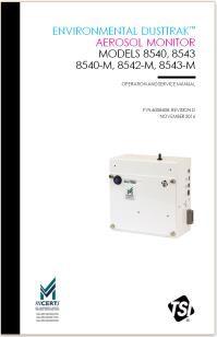 TSI 8540/8540-M/8542-M/8543/8543-M气溶胶粉尘检测仪产品手册