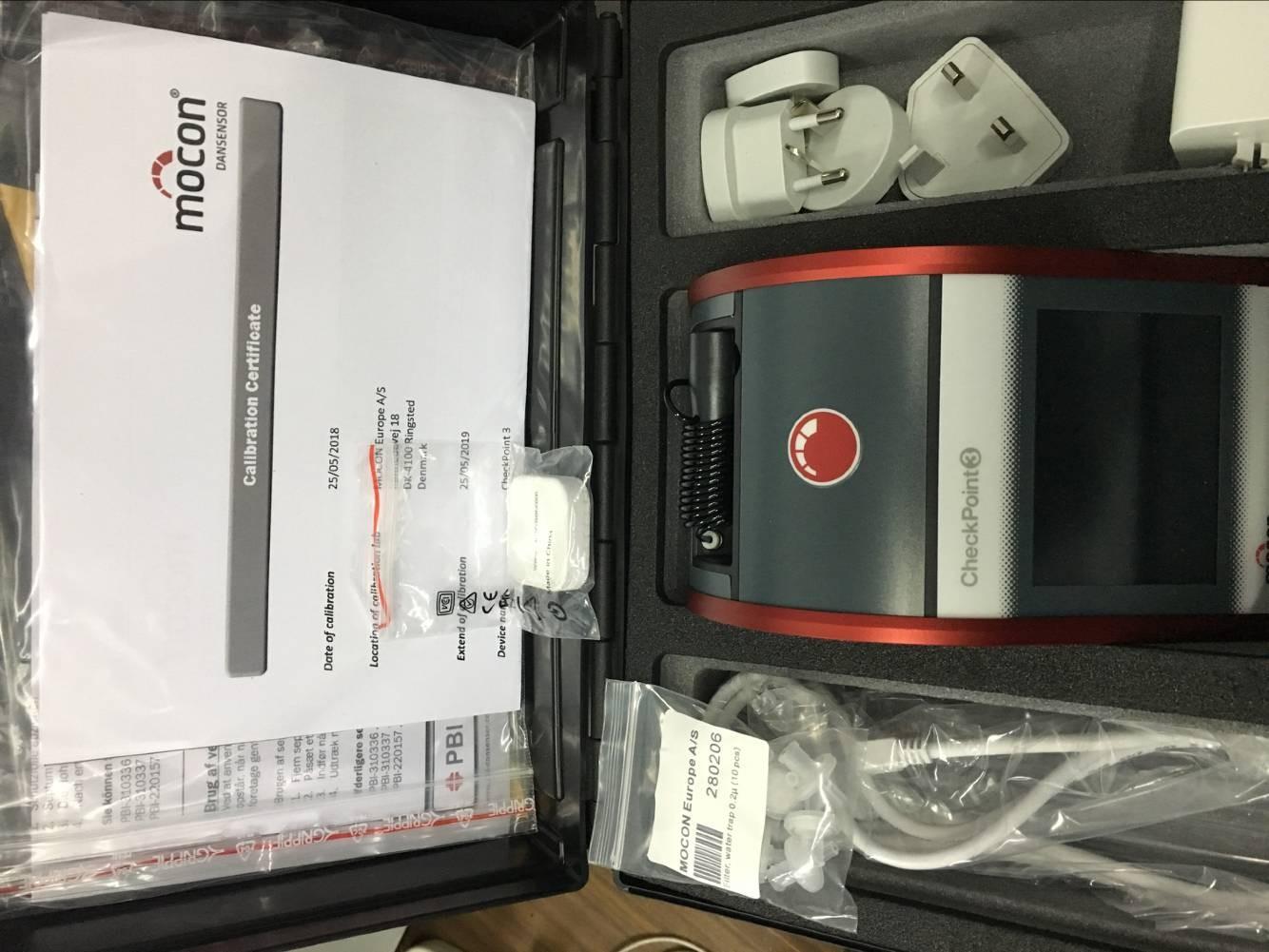 丹麦PBI dansensor checkpoint3便携顶空分析仪 残氧仪产品标准配置图