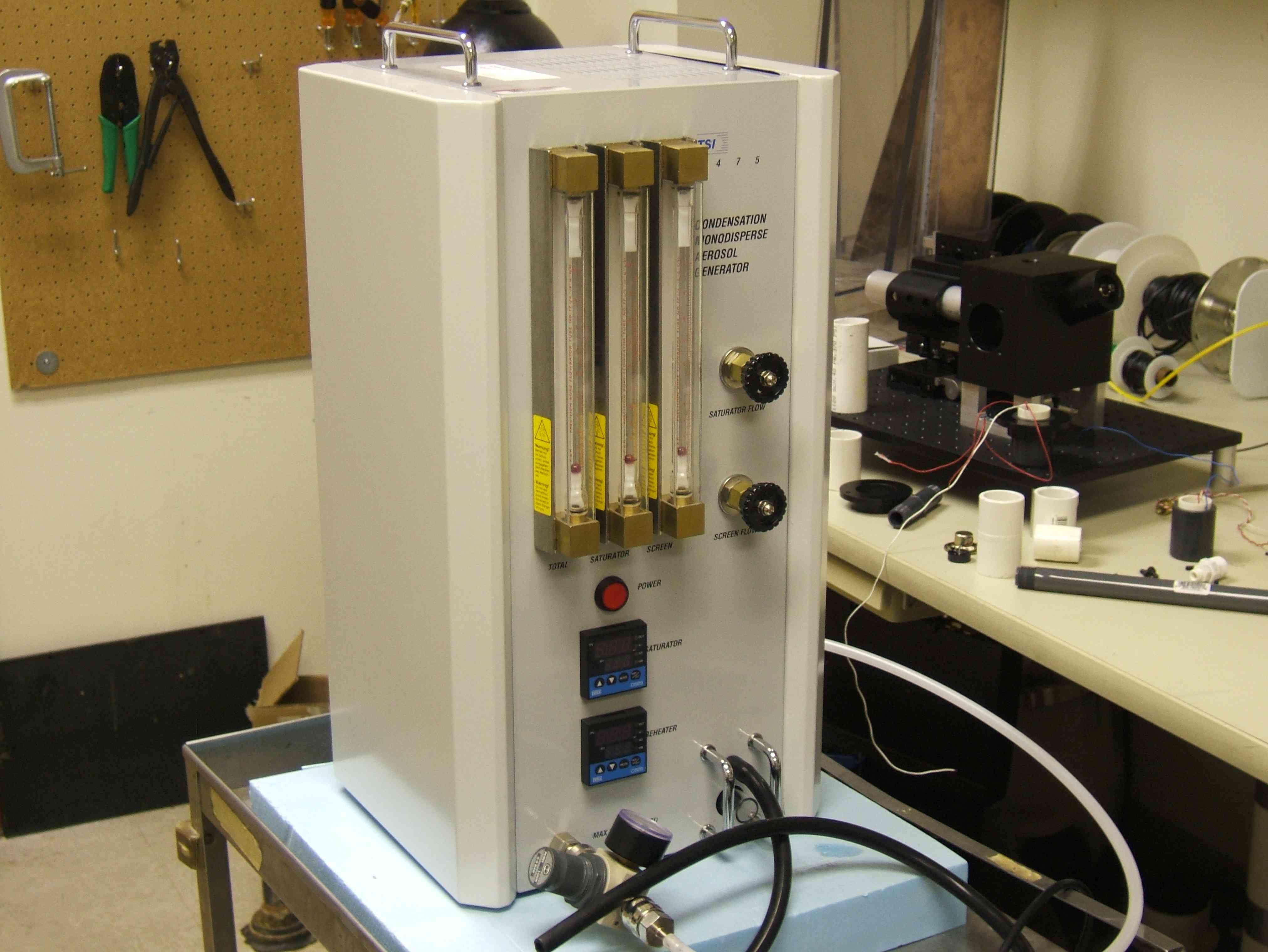 TSI 3475,Topas SLG-270单分散气溶胶发生器简单使用指南