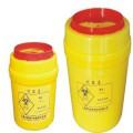 K&Y/康芝园 6.5L聚丙烯塑料圆形利器盒