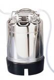 ADVANTEC 压力容器304 SS,5加仑。(18.9升)容量