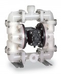 Sandpiper® S1FB3P2PPUS100 气动双隔膜泵聚丙烯泵,聚丙烯,45 GPM,PTFE隔膜