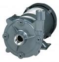 不锈钢直通式离心水泵,紧密耦合的高扬程泵,100加仑或100 TDH,1-1/2 HP 115/230 VAC,1相,TEFC