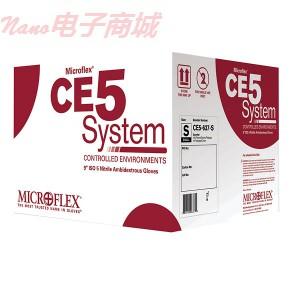 Microflex CE5-755-L丁腈无尘手套,ISO 5级标准,大号,100/bag