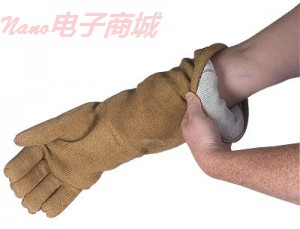 """QRP ™ 50GL耐极端温度的手套,14""""L,大号"""