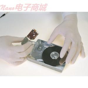 QRP VHC12乙烯无尘手套,大号,100/bag