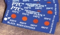 Temp-Plates® 温度记录贴纸 TH-612.6