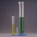 Nalgene 3662-0010 标有刻度的量筒,聚丙烯,蓝色聚丙烯底座,10ml容量