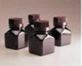 Nalgene 322021-0060 未灭菌,琥珀色PETG 方形有刻度培养基瓶,带盖