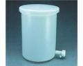 Nalgene 54102-0055 带盖和放水口的轻型圆筒罐,HDPE,55加仑