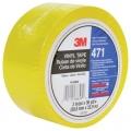 3M 471地面警示胶带,黄色1INX36YDS