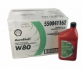 AEROSHELL PISTON OIL W80 1US包装,J-1899 SAE GRADE 40
