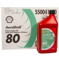AEROSHELL PISTON OIL 80 1USQ包装,J-1966 SAE40 OM170