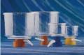 "corning 430512 ""BTF,500ML,33MM,.45UM,CA,S,IND, 瓶口真空过滤器500ml 33mm直径 0.45um孔径CA(醋酸纤维)膜 灭菌 单独包装"""