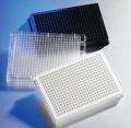 corning 3832BC 1536微孔板,细胞结合表面,CELLBIND,BCB,LOW BASE,W/GENERIC BC,W/LID,S,BK,10/50。