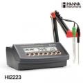 哈纳HANNA HI2223专业微电脑pH/ORP/温度测定仪