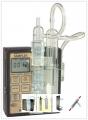 SKC 225-00216 铁弗龙冲击瓶瓶架,可固定在空气采样采器上