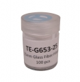Tisch TE-G653-25,25mm直径玻璃纤维过滤器,100 / pk