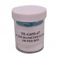 Tisch TE-G653-47,47mm直径玻璃纤维过滤器,100 / pk