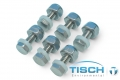Tisch  TE-6001-2.5-13,螺栓和螺母,6件套