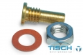Tisch TE-5005-8,带螺母和垫片的压力龙头