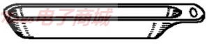 美国UIC CM251-006 CERAMIC BOATS, 10X16X97, 500/PKG 直销电话:4006609565