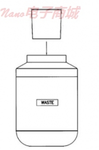 美国UIC CM332-013 BOTTLE, PLASTIC, 2L, WASTE 直销电话:4006609565